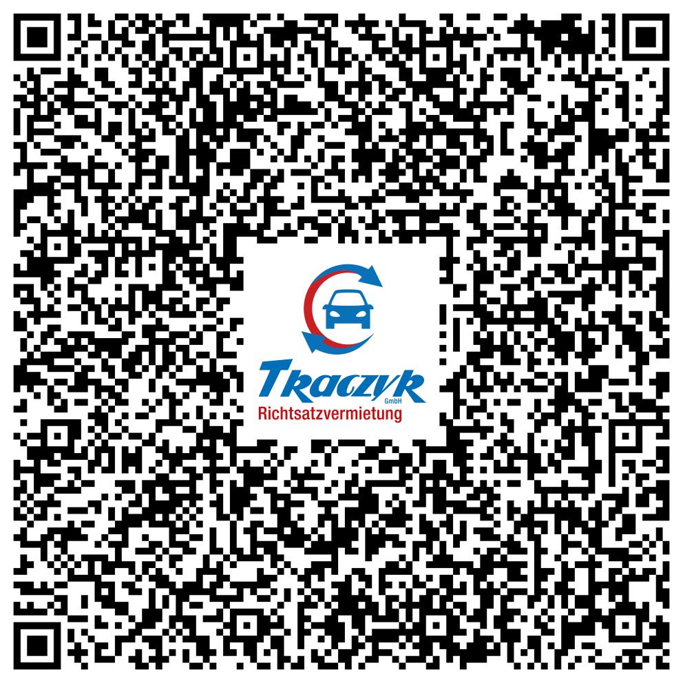 QR-Code mit geeigneter App scannen. Die vCard wird als Kontakt in Ihr Smartphone übernommen.